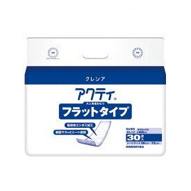 《日本製紙クレシア》 Fアクティ フラットタイプ 30枚  6P