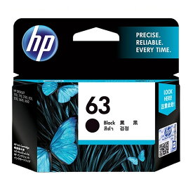 《HP》 インクHP63 F6U62AAブラック