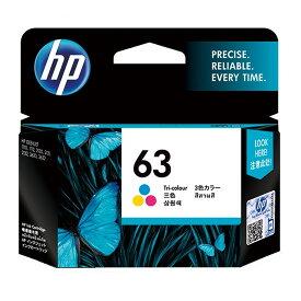 《HP》 インクHP63 F6U61AAカラー