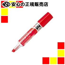 ぺんてる ノックル 太字平芯 赤10本 EMWL6W-B10
