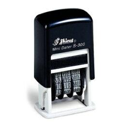 シャイニー(Shiny)Mini Dater ミニ・データー MINI DATE PRINTER S-300(S-300UK) 本西暦品(4連 UKタイプ)