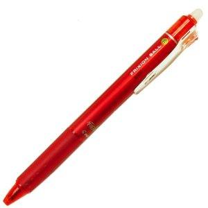 【ノック式】パイロット フリクションボールペン0.5mm レッド