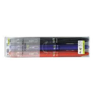 【ノック式】パイロット フリクションボールペン0.5mm 3色セット