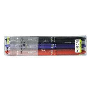 【ノック式】パイロット フリクションボールペン0.7mm 3色セット