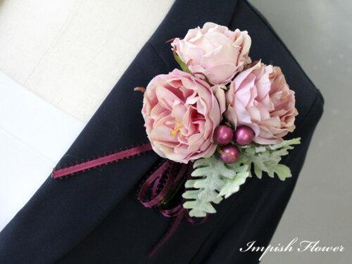 アーティフィシャルフラワー(造花)アクセサリーAC-244