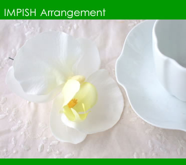アーティフィシャルフラワー(造花)ヘアアクセサリーHAC-17
