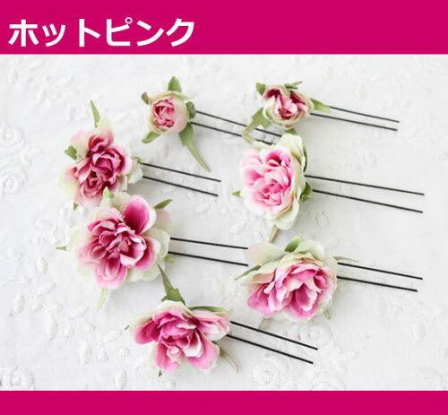 アーティフィシャルフラワー(造花)ヘアアクセサリーHAC-40