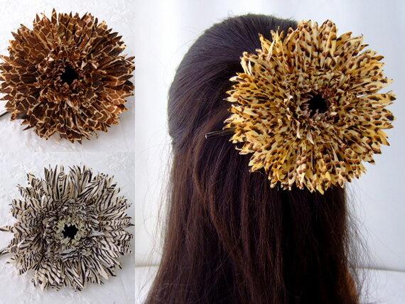 品揃え多数! ヘアクリップ ダッカール ガーベラ HACP-08 シルクフラワー 造花 髪飾り ヘアアクセ くちばしクリップ ヘアアクセサリー ヘアピン 髪留め コサージュ 花 アニマル