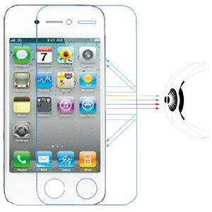 apple iPhone4/4s フィルム ブルーライトカット ブルーライト98.6%カット 目にやさしい【子ども、学生に電車、暗闇で】液晶画面フィルム TPU+PC素材 抗衝撃 高光沢 90%透過率 3H硬度 超薄0.15MM