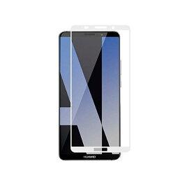 Huawei 703HW Mate 10 Pro 3D 全面保護ガラスフィルム フルカバー 透明9H超硬質自動吸着 高光沢 ホワイト