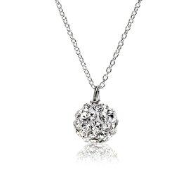 新作 レディース スワロフスキー ネックレス シルバー ギフト プレゼント naotjewelry Swarovski Crystal Ball Necklace