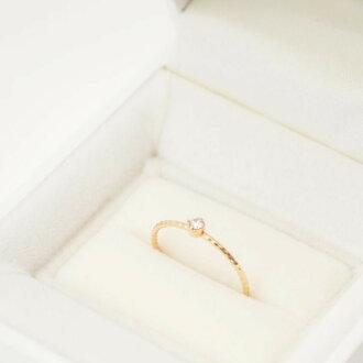 K10 다이아몬드 링 골드 기프트 선물 레이디스 심플 크리스마스 생일