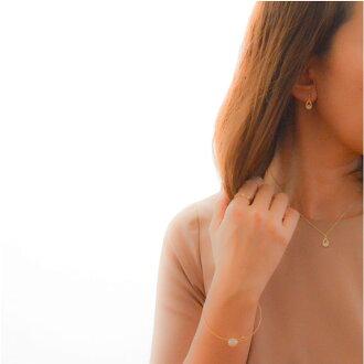 산화 지르코늄 피어스트 이어링 골드 기프트 선물 레이디스 심플 크리스마스 생일:Drop Zirconia Pierce/Earring
