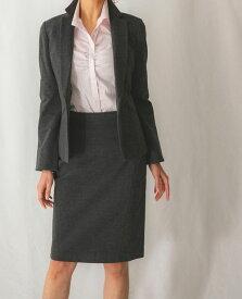 accefb81b0e52 《セットアップスーツ対応》 長袖 ジャケット ビジネス オフィス OL 上品 通勤 レディース トップス エレガント フォーマル