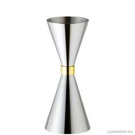 【カクテル用計量カップ】スリム メジャーカップ 30ml/45ml (目盛付)【国産】