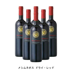 [6本まとめ買い] メシムネオス ドライ・レッド 2016年 メシムネオス ギリシャ 赤ワイン ミディアムボディ ギリシャワイン エーゲ海の島々 ギリシャ赤ワイン チディリオティコ 750ml