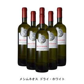 [6本まとめ買い] メシムネオス ドライ・ホワイト 2019年 メシムネオス ギリシャ 白ワイン 辛口 ギリシャワイン レスヴォス島 ギリシャ白ワイン チディリオティコ 750ml