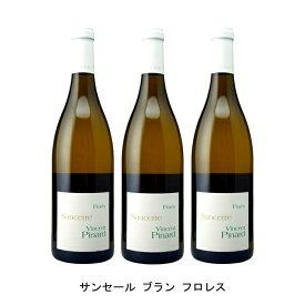 [ 3本 まとめ買い ] サンセール ブラン フロレス ( ヴァンサン ピナール ) 2018年 フランス 白ワイン 辛口 750ml×3本