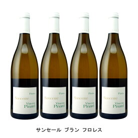 [ 4本 まとめ買い ] サンセール ブラン フロレス ( ヴァンサン ピナール ) 2018年 フランス 白ワイン 辛口 750ml×4本