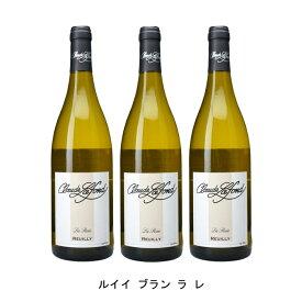 [ 3本 まとめ買い ] ルイイ ブラン ラ レ ( クロード ラフォン ) 2018年 フランス 白ワイン 辛口 750ml×3本