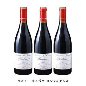 [ 3本 まとめ買い ] ラストー キュヴェ コンフィアンス ( ドメーヌ ラ スマド ) 2017年 フランス 赤ワイン フルボディ 750ml×3本