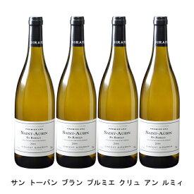 [4本まとめ買い] サン トーバン ブラン プルミ クリュ アン ルミィ 2016年 ヴァンサン ジラルダン フランス 白ワイン 辛口 フランスワイン ブルゴーニュ フランス白ワイン シャルドネ 750ml