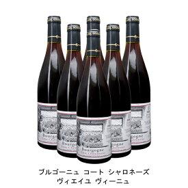 [ 6本 まとめ買い ] ブルゴーニュ コート シャロネーズ ヴィエイユ ヴィーニュ ( ミシェル グバール エ フィス ) 2016年 フランス 赤ワイン ミディアムボディ 750ml×6本