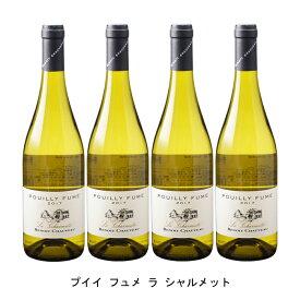 [4本まとめ買い] プイィ フュメ ラ シャルメット 2018年 ブノワ ショヴォー フランス 白ワイン 辛口 フランスワイン ロワール フランス白ワイン ソーヴィニヨン ブラン 750ml