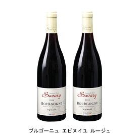 [2本まとめ買い] ブルゴーニュ エピヌイユ ルージュ 2016年 フランシーヌ エ オリヴィエ サヴァリー フランス 赤ワイン フルボディ フランスワイン シャブリ フランス赤ワイン ピノ ノワール 750ml