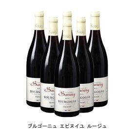 [6本まとめ買い] ブルゴーニュ エピヌイユ ルージュ 2016年 フランシーヌ エ オリヴィエ サヴァリー フランス 赤ワイン フルボディ フランスワイン シャブリ フランス赤ワイン ピノ ノワール 750ml