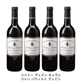 [ 4本 まとめ買い ] シャトー デュドン キュヴェ ジャン バティスト デュドン ( ジャン メルロ ) 2006年 フランス 赤ワイン フルボディ 750ml×4本