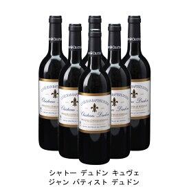 [ 6本 まとめ買い ] シャトー デュドン キュヴェ ジャン バティスト デュドン ( ジャン メルロ ) 2006年 フランス 赤ワイン フルボディ 750ml×6本