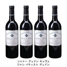[ 4本 まとめ買い ] シャトー デュドン キュヴェ ジャン バティスト デュドン ( ジャン メルロ ) 2010年 フランス 赤ワイン フルボディ 750ml×4本