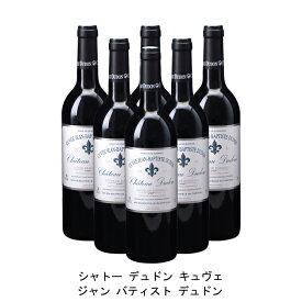 [ 6本 まとめ買い ] シャトー デュドン キュヴェ ジャン バティスト デュドン ( ジャン メルロ ) 2010年 フランス 赤ワイン フルボディ 750ml×6本