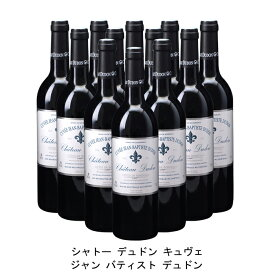 [ 12本 まとめ買い ] シャトー デュドン キュヴェ ジャン バティスト デュドン ( ジャン メルロ ) 2010年 フランス 赤ワイン フルボディ 750ml×12本