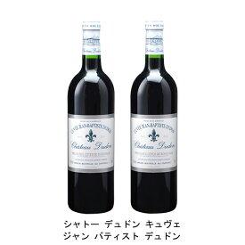 [ 2本 まとめ買い ] シャトー デュドン キュヴェ ジャン バティスト デュドン ( ジャン メルロ ) 2003年 フランス 赤ワイン フルボディ 750ml×2本