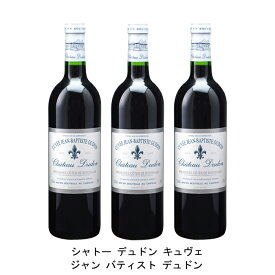 [ 3本 まとめ買い ] シャトー デュドン キュヴェ ジャン バティスト デュドン ( ジャン メルロ ) 2003年 フランス 赤ワイン フルボディ 750ml×3本