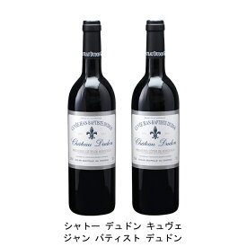 [ 2本 まとめ買い ] シャトー デュドン キュヴェ ジャン バティスト デュドン ( ジャン メルロ ) 2004年 フランス 赤ワイン フルボディ 750ml×2本