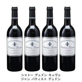 [ 4本 まとめ買い ] シャトー デュドン キュヴェ ジャン バティスト デュドン ( ジャン メルロ ) 2004年 フランス 赤ワイン フルボディ 750ml×4本