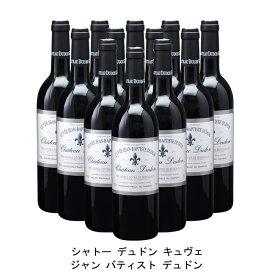 [ 12本 まとめ買い ] シャトー デュドン キュヴェ ジャン バティスト デュドン ( ジャン メルロ ) 2004年 フランス 赤ワイン フルボディ 750ml×12本
