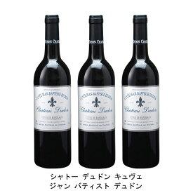 [ 3本 まとめ買い ] シャトー デュドン キュヴェ ジャン バティスト デュドン ( ジャン メルロ ) 2008年 フランス 赤ワイン フルボディ 750ml×3本