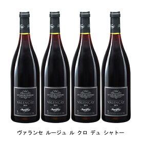 [4本まとめ買い] ヴァランセ ルージュ ル クロ デュ シャトー 2018年 クロード ラフォン フランス 赤ワイン フルボディ フランスワイン ロワール フランス赤ワイン ピノ ノワール 750ml