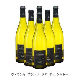 [ 6本 まとめ買い ] ヴァランセ ブラン ル クロ デュ シャトー ( クロード ラフォン ) 2018年 フランス 白ワイン 辛口 750ml×6本
