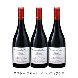 [ 3本 まとめ買い ] ラストー フルール ド コンフィアンス ( ドメーヌ ラ スマド ) 2015年 フランス 赤ワイン フルボディ 750ml×3本