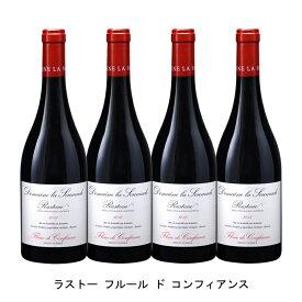 [ 4本 まとめ買い ] ラストー フルール ド コンフィアンス ( ドメーヌ ラ スマド ) 2015年 フランス 赤ワイン フルボディ 750ml×4本