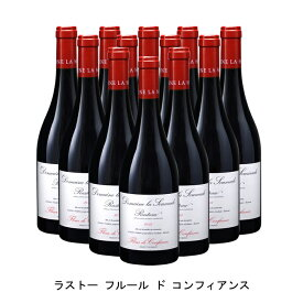 [ 12本 まとめ買い ] ラストー フルール ド コンフィアンス ( ドメーヌ ラ スマド ) 2015年 フランス 赤ワイン フルボディ 750ml×12本