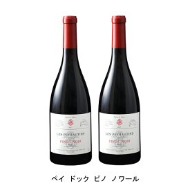 [ 2本 まとめ買い ] ペイ ドック ピノ ノワール ( レ ペイロタン ) 2019年 フランス 赤ワイン ミディアムボディ 750ml×2本
