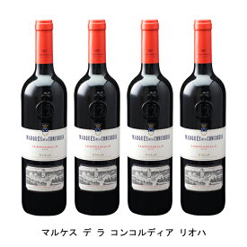 [4本まとめ買い] マルケス デ ラ コンコルディア 2017年 マルケス デ ラ コンコルディア スペイン 赤ワイン フルボディ スペインワイン リオハ スペイン赤ワイン テンプラニーリョ 750ml
