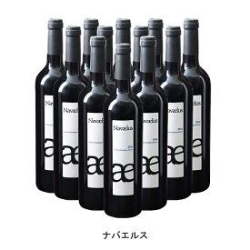 [12本まとめ買い] ナバエルス 2016年 ボデガ イヌリエータ スペイン 赤ワイン ミディアムボディ スペインワイン ナバラ スペイン赤ワイン カベルネ ソーヴィニヨン 750ml