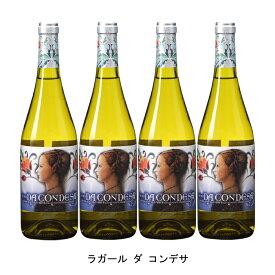 [ 4本 まとめ買い ] ラガール ダ コンデサ ( ラガール ダ コンデサ ) 2018年 スペイン 白ワイン 辛口 750ml×4本